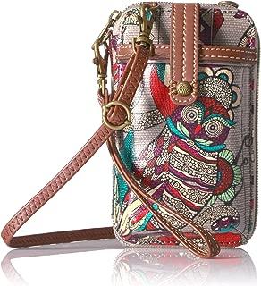 Artist Circle Smartphone Wristlet Convertible Cross Body Bag