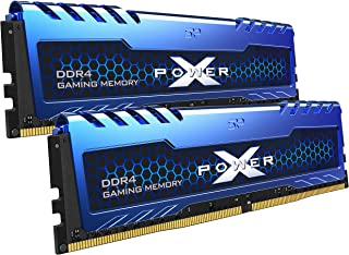 Silicon Power 16GB (8GBx2) XPOWER Turbine Gaming DDR4 3200MHz (PC4 25600) 288-pin CL16 1.35V UDIMM Desktop Memory Module -...