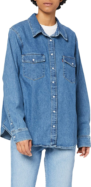 Levis Plus Size Pl Essential Western Camisa para Mujer