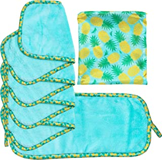 Set Of 5 FreshFace Makeup Remover Cloths by Campanelli (5pc, Pineapple)