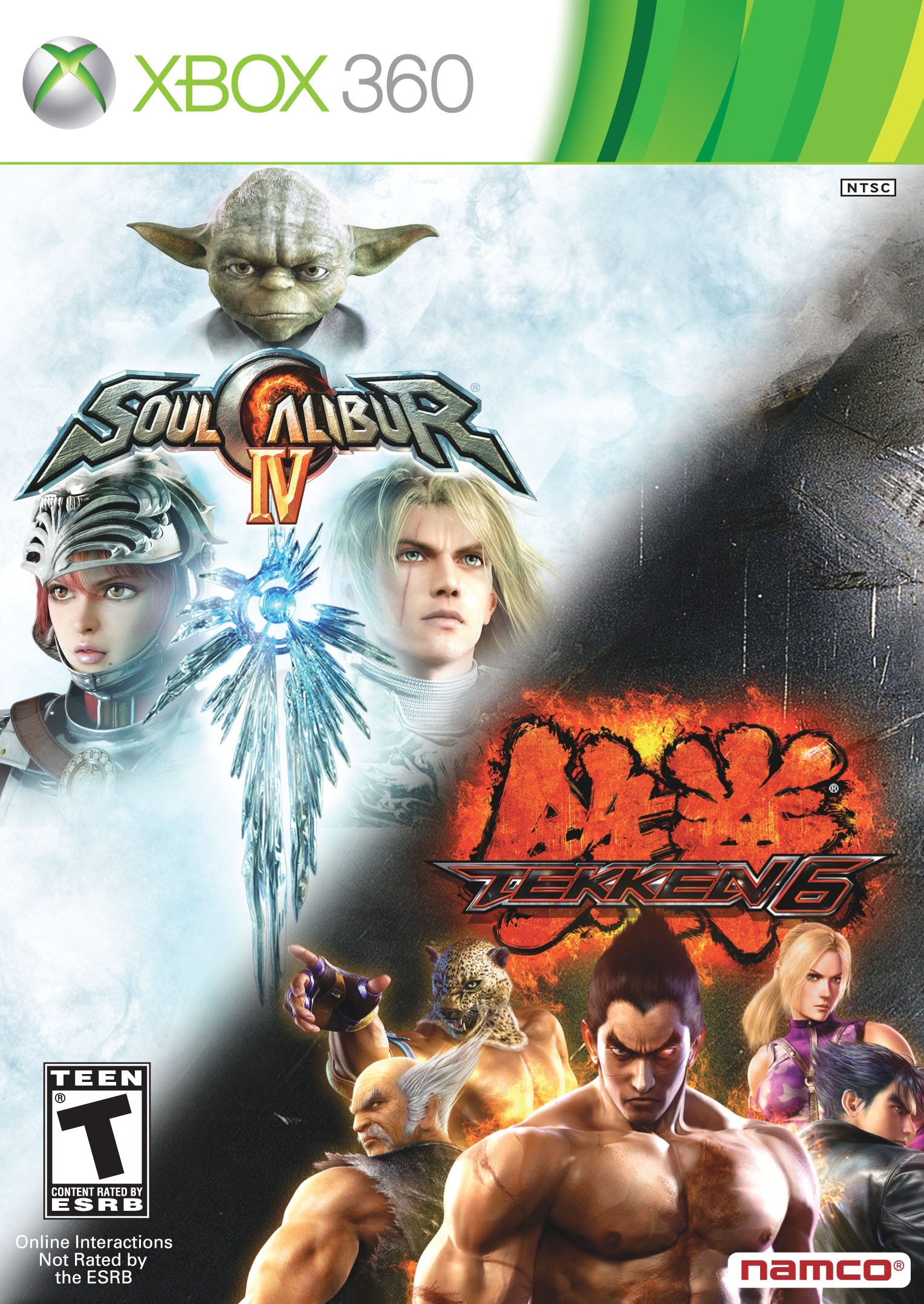 Namco Bandai Games Tekken 6 & Soul Calibur 4 - Juego (Xbox 360, Familia, T (Teen)): Amazon.es: Videojuegos