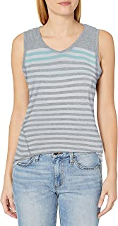 Calvin Klein womens Dynamic Stripe Sleeveleshortsleeve Hoodie