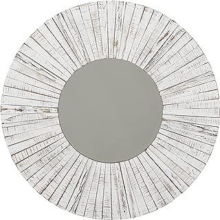 Stone & Beam Driftwood Mirror, 36