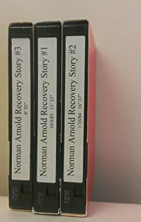 3 Volume Set of Norman Arnold Recovery Story