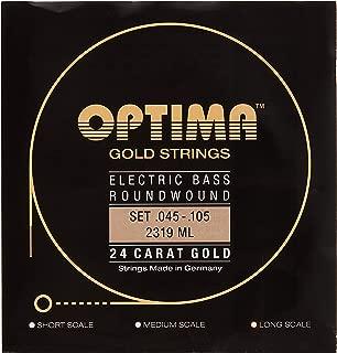 Optima 2319 LS Bass GOLD Strings, Long Scale, medium light