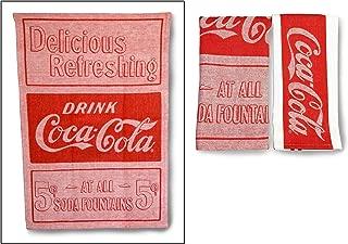 youngs Inc Jacquard Coca Cola Tea Towel Set of 2, Multi