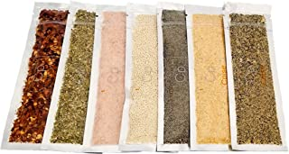 Cpise Organic Camping Spice Kit- 7 Organic Basic Spices: Camping Spices