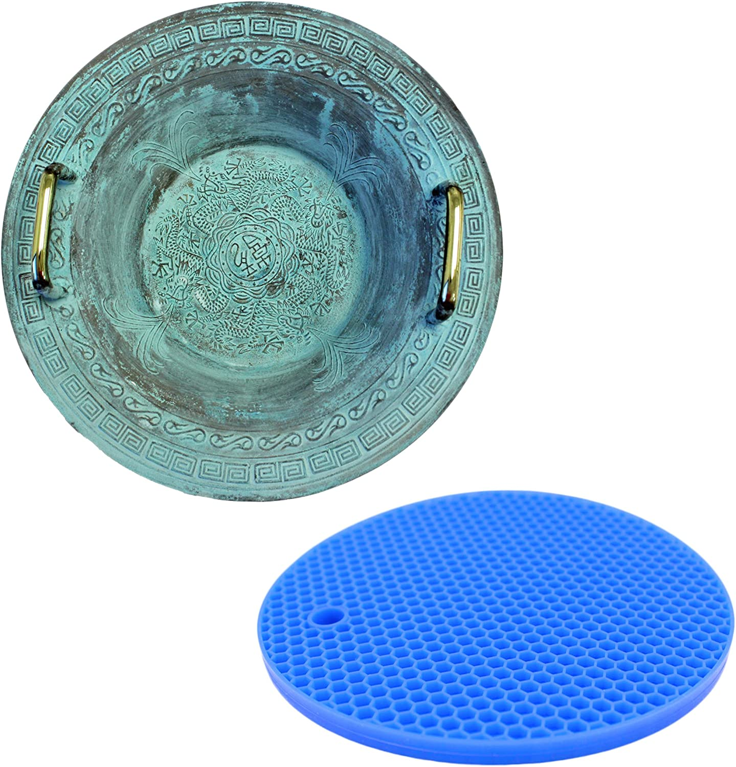 Resonance Chinese Spouting Bowl Plus Rubber Mat Danci 1 year warranty a Ranking integrated 1st place Create