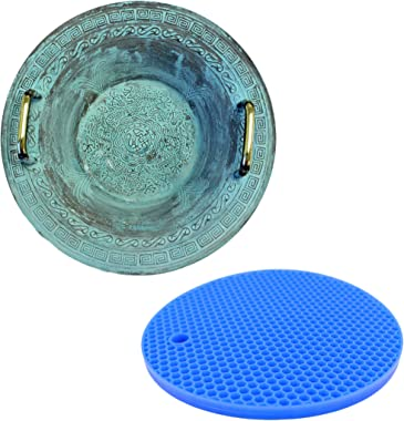 American Scientific Resonance Chinese Spouting Bowl Plus Rubber Mat   Create a Dancing Water Fountain Display   Relaxing and Satisfying Experience