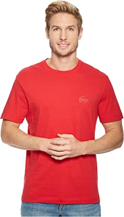 Lacoste - Short Sleeve 'Graphics' Jersey Bonded Croc Regular