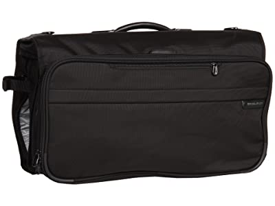 Briggs & Riley Baseline Compact Garment Bag (Black) Suiter Luggage