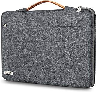 TECOOL 15.6 Zoll Laptoptasche Hülle Tasche für 15 Zoll Laptop Notebook Lenovo Thinkpad Ideapad HP Acer Dell Samsung Chrome...