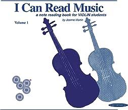 Download Book I Can Read Music, Vol 1: Violin (For Violin) PDF