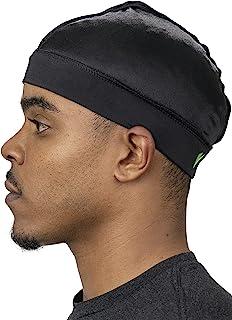 Veeta Superior Wave Cap - Smooth Silky Fabric | Maximum Compression Wave Cap | Soft Elastic Headband | Outside Seam Stitching