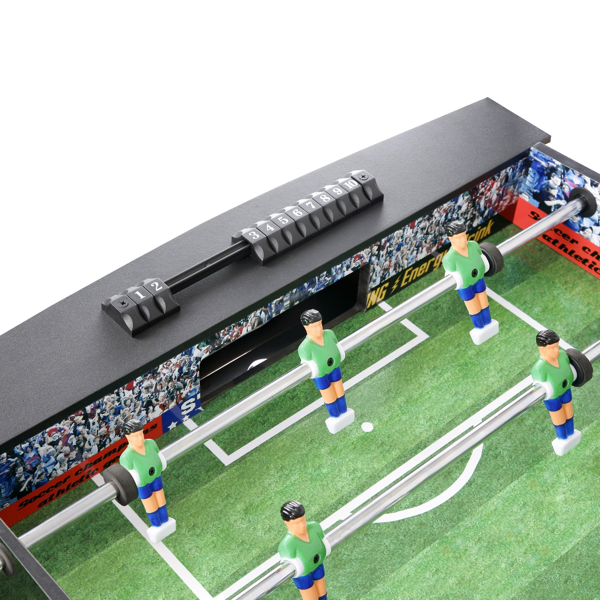 Hathaway Playoff 4 feet Foosball Table for Kids and Adults