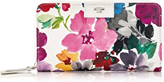 Tom Tailor AccMiri RivieraMujerCarterasBlanco (Blumen Weiß)19.5x10.5x2.5 Centimeters (W x H x L)