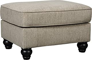 Ashley Furniture Signature Design - Blackwood Traditional Style Accent Ottoman - Taupe