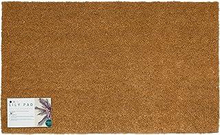 LPDoormats - heavy duty coir door mat - large doormat 75 x 45cm - non slip doormat with PVC backing - indoor door mat - ou...
