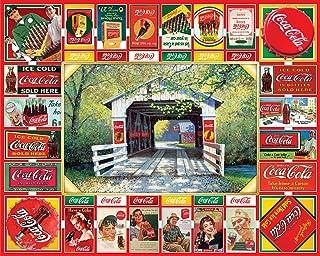 Springbok 1000 Piece Jigsaw Puzzle Coca Cola Gameboard - Made in USA