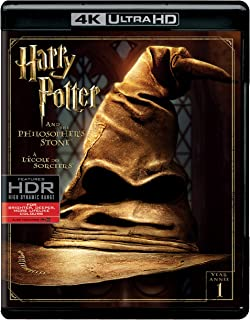 Harry Potter and the Philosopher's Stone   4K + Blu-ray