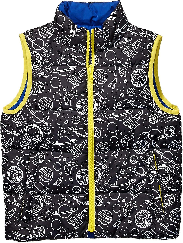 Brand Spotted Zebra Girls Reversible Puffer Vest