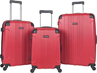 Out Of Bounds 3-Piece Lightweight Hardside 4-Wheel Spinner Luggage Set: 20