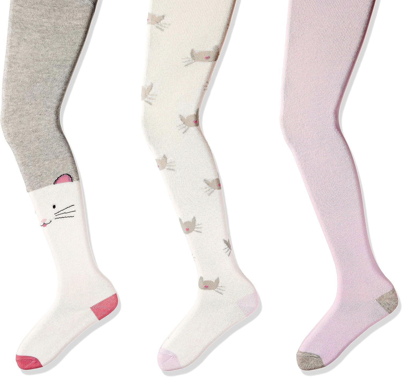 Amazon Brand - Spotted Zebra Girls' Cotton Tights