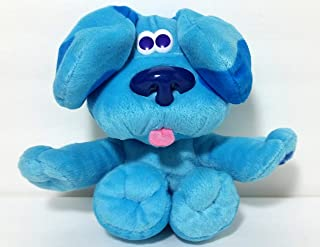 Blues Clues Plush Puppy Dog. Magic Moves / Ears Go Up When Tummy is Pressed. Collectible and Hard to Find.