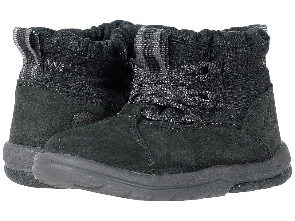 Timberland Kids Tracks Warm L/F Bootie (Toddler/Little Kid) (Black Naturebuck) Kids Shoes