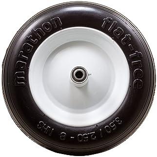"Marathon 3.50/2.50-8"" Flat Free Tire on Wheel, 6"" Hub, 5/8"" Bearings"