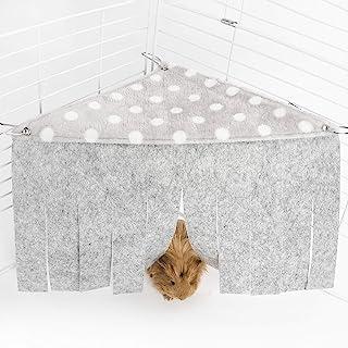 Niteangel Fleece Forest Corner Curtain Hideout Fun Hiding Spot for Ferrets Chinchillas Hedgehogs Dwarf Rabbits Guinea Pigs...