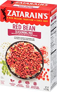 Zatarain's Red Bean Seasoning, 2.4 oz (Pack of 12)