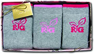Women's Mid Calf Socks Gift Box (3-Pair Pack)