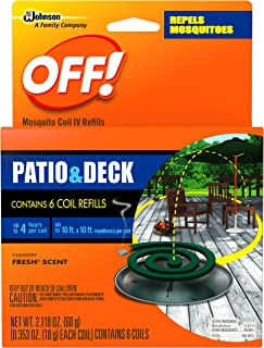 Off! Mosquito 6 Count Coil Refills