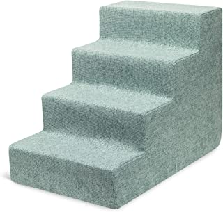 USA Made Pet Steps/Stairs with CertiPUR-US Certified Foam...