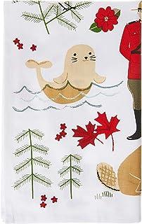 Now Designs Cotton Kitchen Towel, True North Print, 1 EA