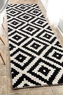 nuLOOM 200MTVS174A-26012 Kellee Contemporary Wool Runner Rug, 2' 6