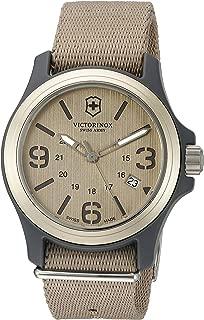 Swiss Army Men's Original Swiss Quartz Watch with Nylon Strap