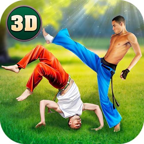Capoeira Martial Arts Contest: Brazil Fighting Tiger Game