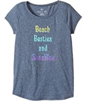 Roxy Kids - Beach Besties Fashion Crew (Big Kids)