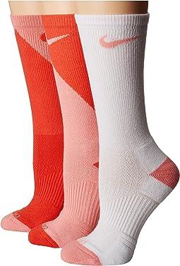 Nike - Cushion Graphic Crew Training Socks 3-Pair Pack