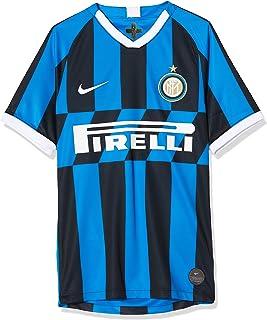 Inter Herren Milan 2019/20 Stadium Home Kurzärmeliges T-Shirt
