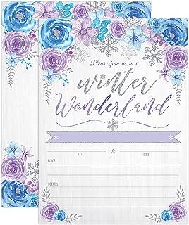 Best snowflake wedding invitations Reviews
