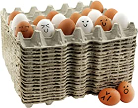 30-Count Egg Flats (18 Trays); Biodegradable Recycled Material Chicken Egg Cartons, Each Holds 30 Eggs