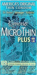 Kimono Kimono Microthin With Aqua Lube, 12 Count, 12 count