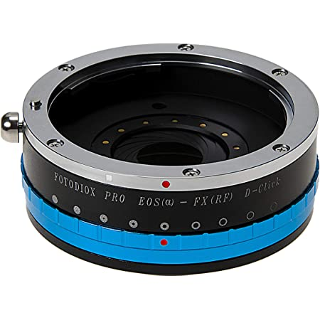 Fotodiox Pro IRIS Lens Mount Adapter Compatible with Canon EOS EF Full Frame Lenses to Fujifilm X-Mount Cameras
