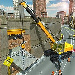 Security Wall Construction & Cargo Simulator 2018