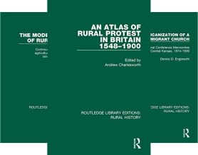 Routledge Library Editions: Rural History (15 Book Series)