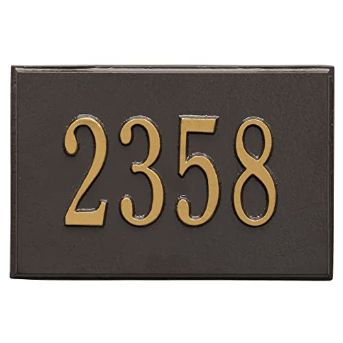 2 INCHES NUMBER 0 NIB CAST BRASS METAL  DOOR NUMBER