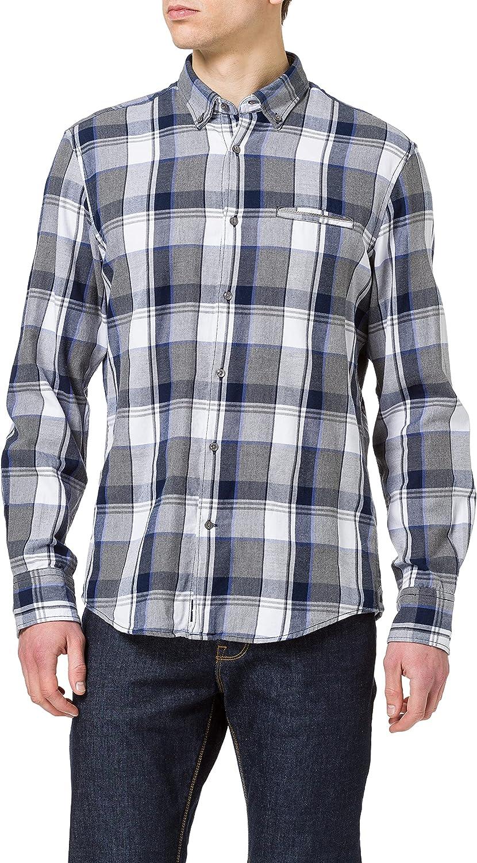 Pierre Cardin Langarm Hemd Camisa Abotonada para Hombre ...